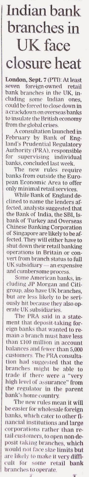 Income Ideas Indian Bank Branches In UK Face Closure Heat