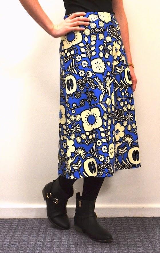 Tessuti - Libby A Line Skirt