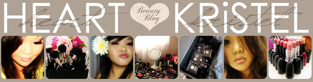 HEART ♥ KRiSTEL'S BEAUTY BLOG