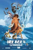 Ice Age 4: La formacion de los continentes (2012) online y gratis