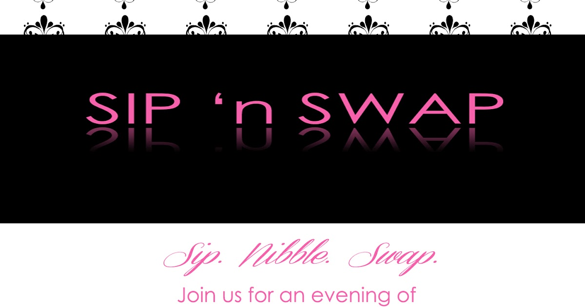 sip \'n swap party collection: invitation | Paper and Pomp