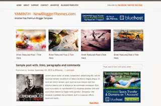 Responsive, SEO Ready and clean blogger template