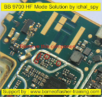 blackberry 9700 HF mode solution