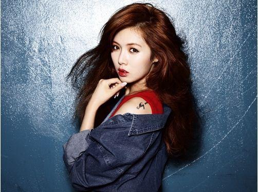 Hyuna stylish