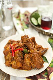 Resep Rendang Ayam Kentang