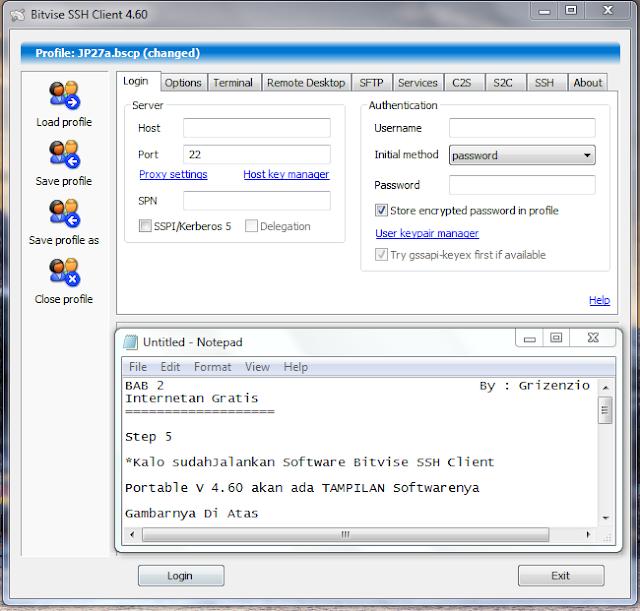 2013 06 27 202301 Cara Setting Dan Menggunakan SSH , Proxifier, Bitvise By Grizenzio