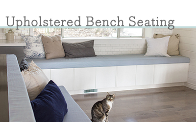 Upholstered Ikea Cabinet Bench Seating