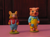 Richard Scarry Puzzletown Pig and Rabbit