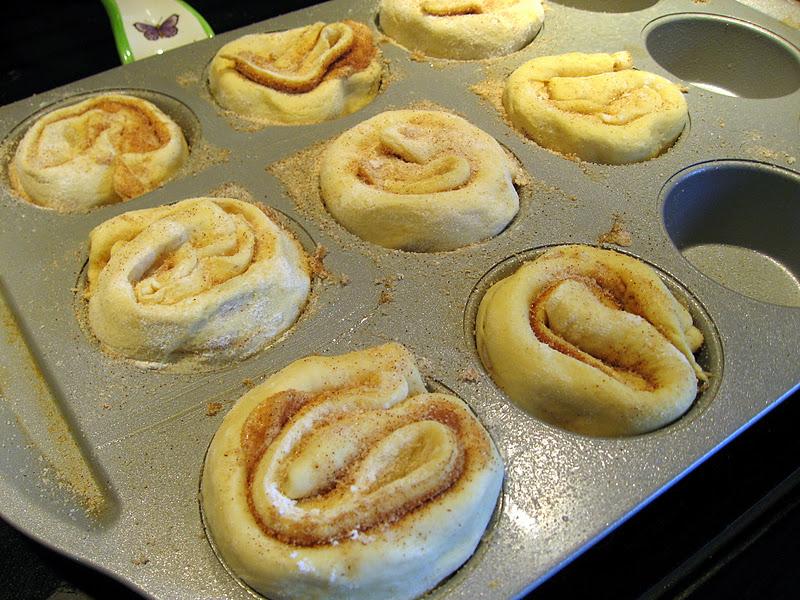 King Cake Using Cinnamon Roll Dough