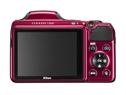 Nikon Coolpix L820 LCD Display
