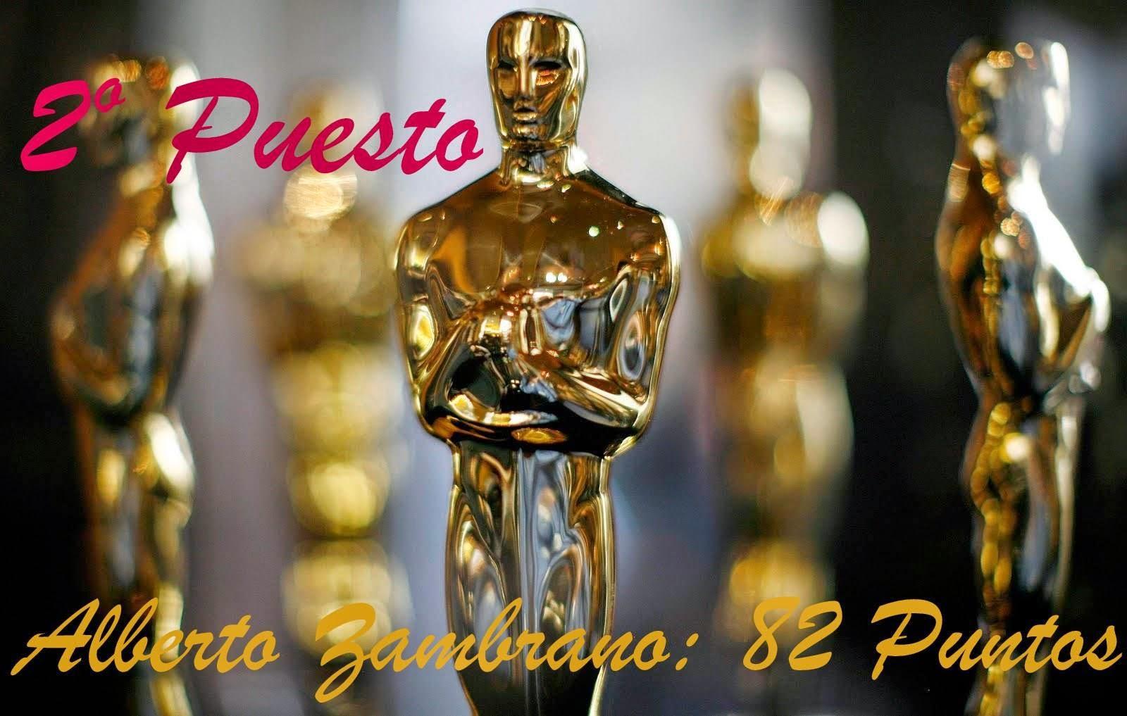 Segundo Lugar: Nostradamus de los Oscar 2014