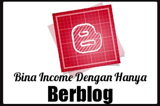 buat duit blog, income dari blog