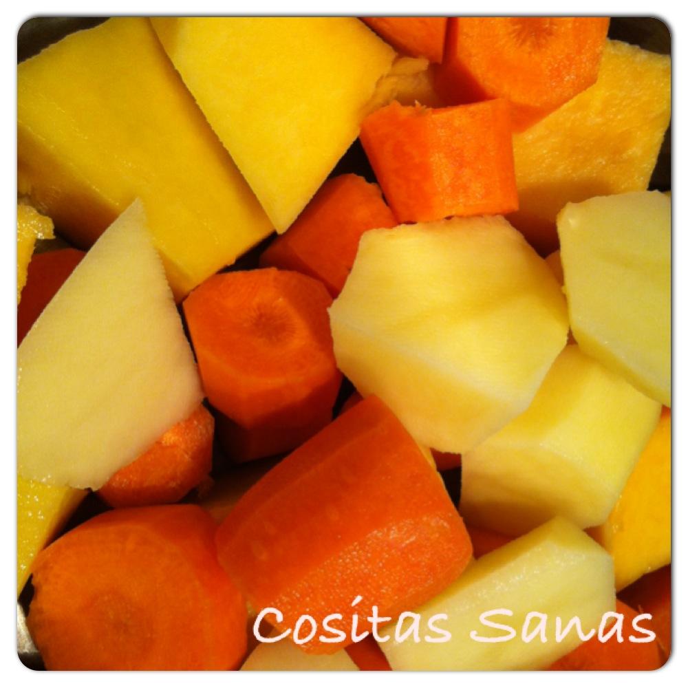 receta niños pure calabaza y zanahoria