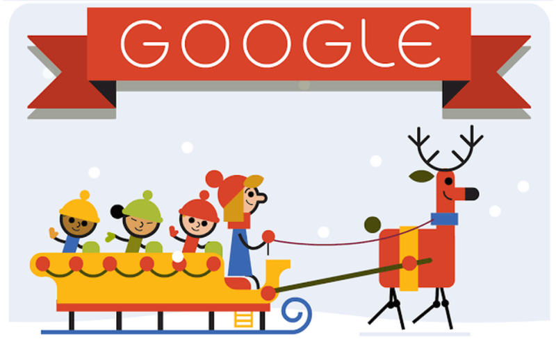 Logo Google 23 decembrie 2014