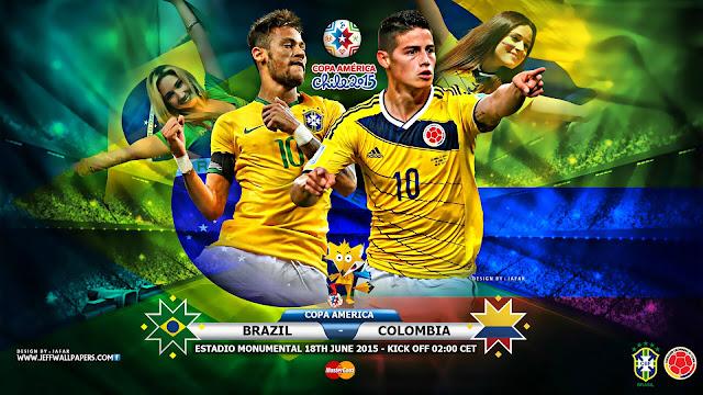 Kèo thơm chắc thắng Brazil vs Colombia