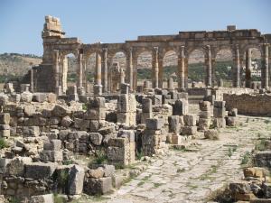 Ruinas romanas en Fez