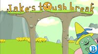 Free Adventure Time games: Jake's Tough Break