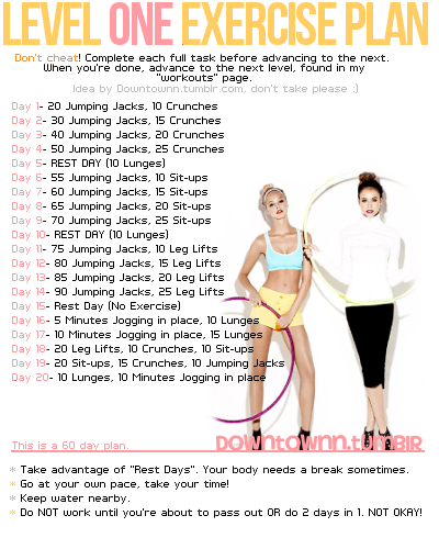 A Good Workout Program http://wendymalarsie.blogspot.com/2012/01/exercise-plan.html