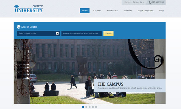 Education Academy WordPress Theme Free Download by Templatic.