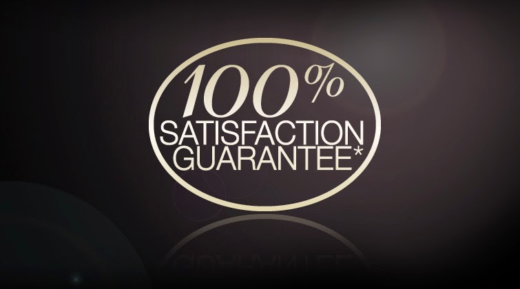 Your 100% Satisfaction Is Guaranteed!