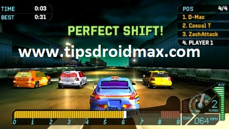 Download Need For Speed - Underground Rivals PSP