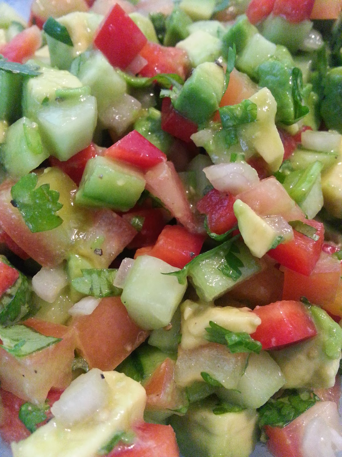 Cucumber Avocado Salsa Recipe — Dishmaps