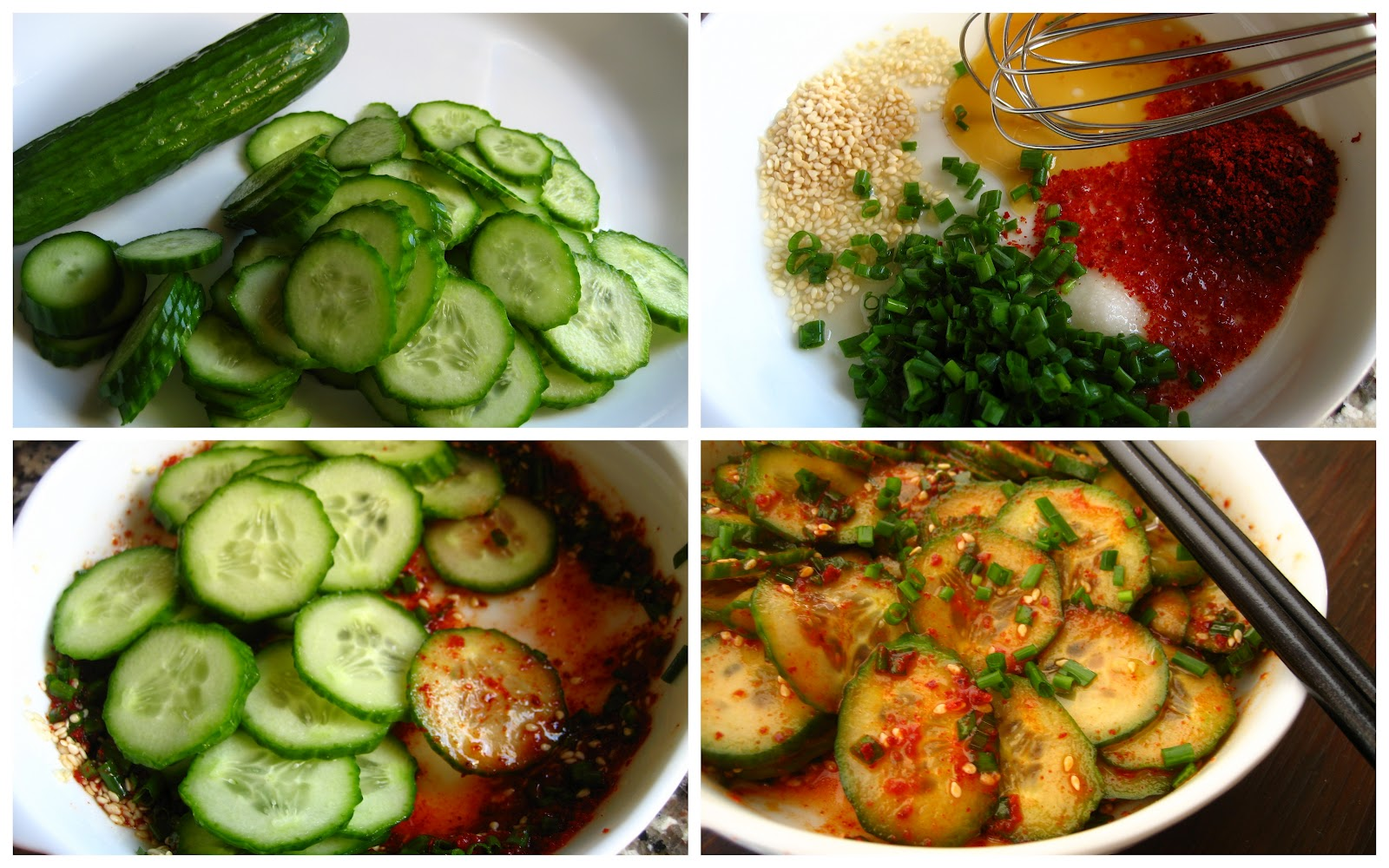... Cooking In Montana: Spicy Korean Red Pepper (Gochugaru) Cucumber Salad