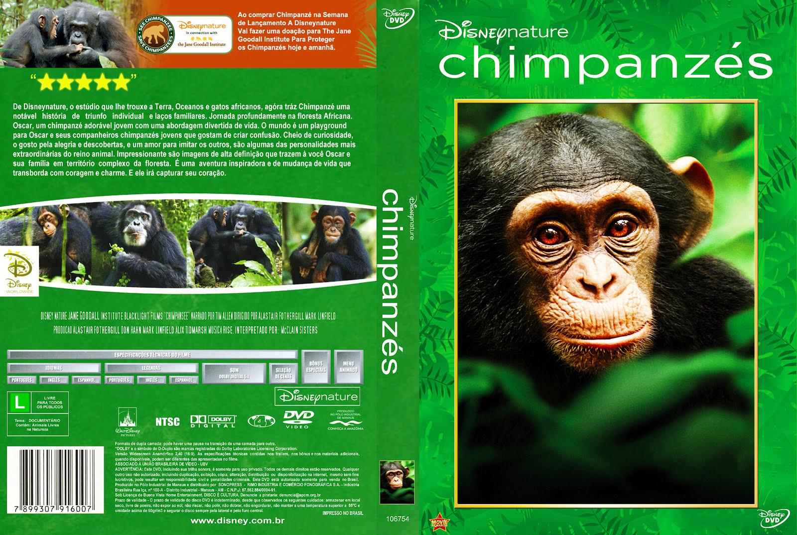 Chimpanzé DVDRip XviD Dual Áudio Chipanz C3 A9s