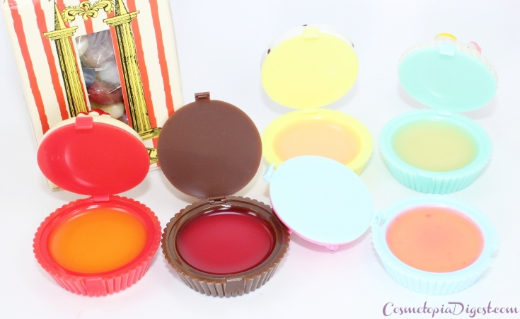 My review of the Holika Holika Dessert Time Lip Balm set, which comes in cute cupcake packaging.