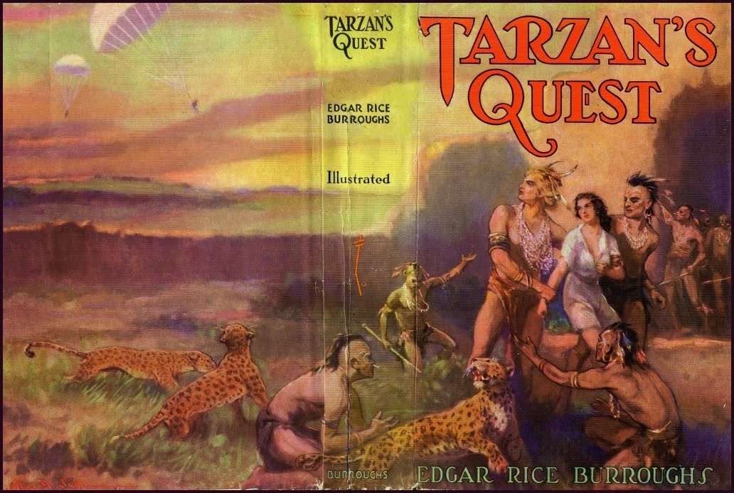 a report on tarzan the terrible a novel by edgar rice burroughs Edgar rice burroughs (1875-1950) was an american author, best known for his creation of the jungle hero tarzan, although he also produced works in many genres his first story under the moons of mars was serialised in all-story magazine in 1912.