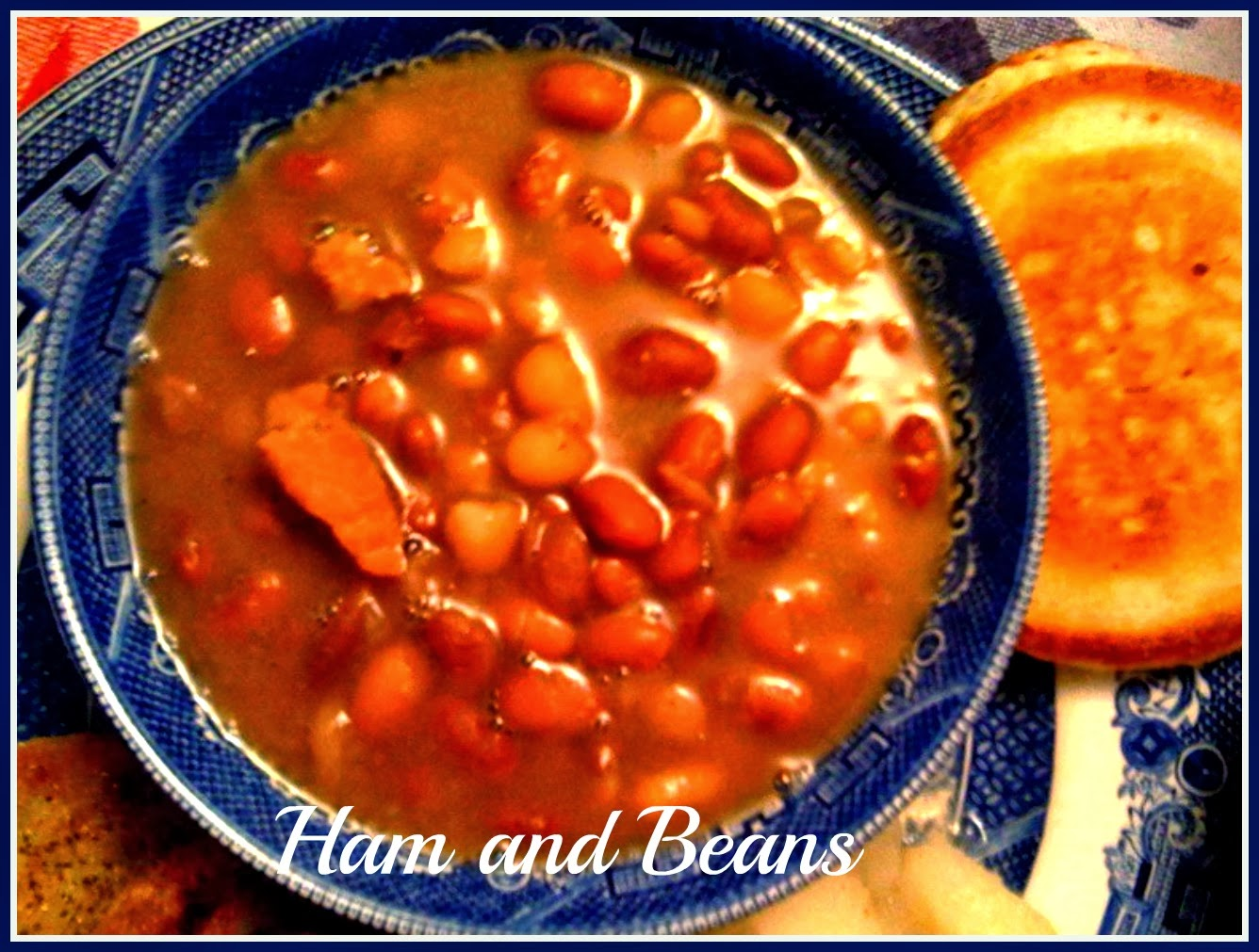 Sweet Tea and Cornbread: Southern Ham and Beans!
