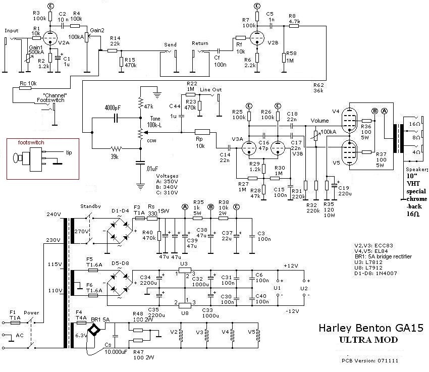 harley benton ga 15 ultra mod ! guitar dreamer Automotive Wiring Diagrams at Randall Rx20r Wiring Diagram
