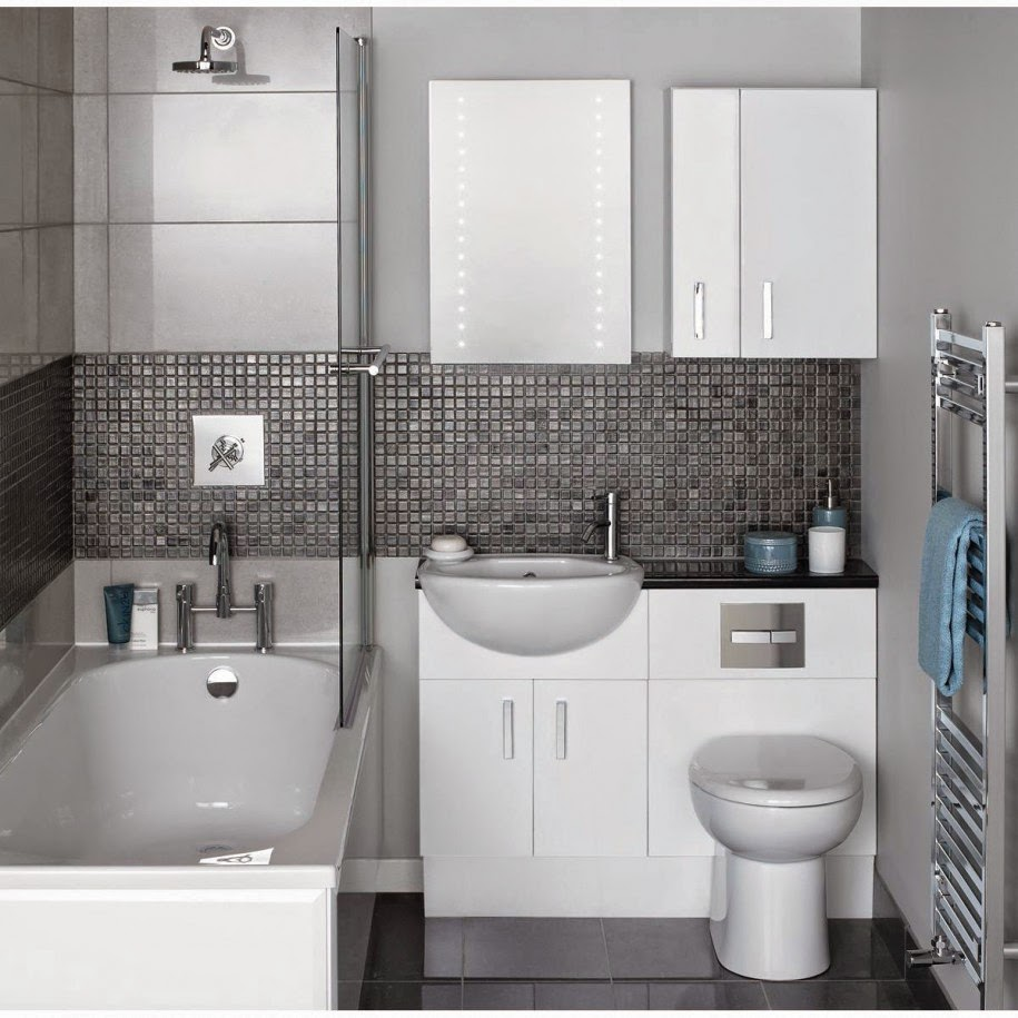 small space white modern bathroom ideas