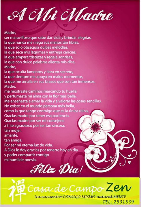 Poesias A Madre Muerta