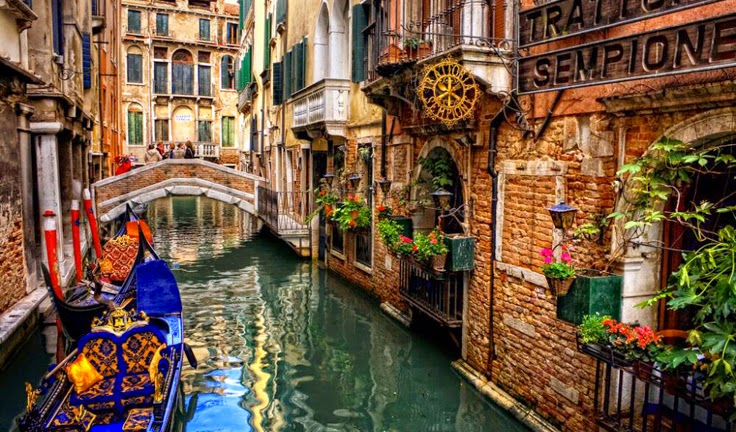 romantic venice photo