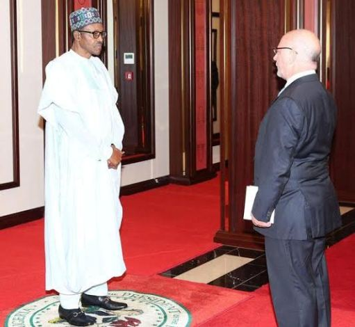 Buhari receives letters of credence from Amb. of Belgium, Rwanda & Poland
