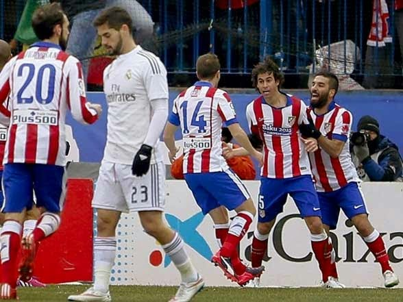 Atletico beat Real Madrid 4-0