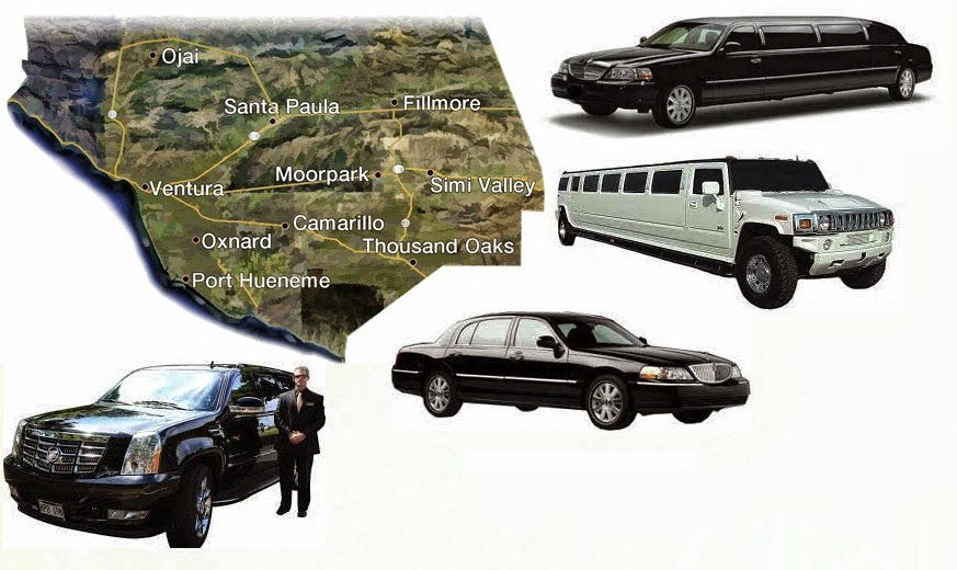 Ventura County Limousine Services Thousand Oaks, Simi Valley, Oxnard,  Ventura, And Other Ventura County Cities. We Are A Top Rated Limo Service  In Thousand ...
