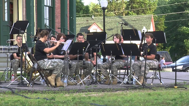 NH National Guard 39th Army Band Concert on Thursday, July 23, 2015