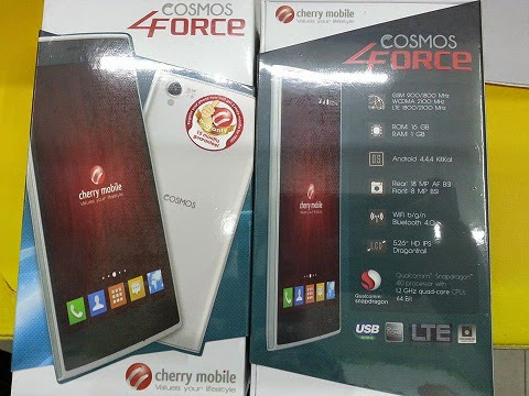Cherry Mobile Cosmos Force: Specs, Price and Availability