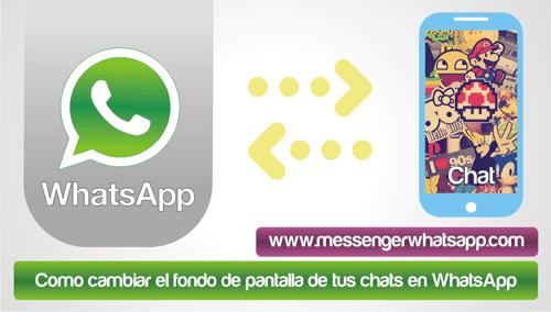 Como cambiar el fondo de pantalla de tus chats en WhatsApp
