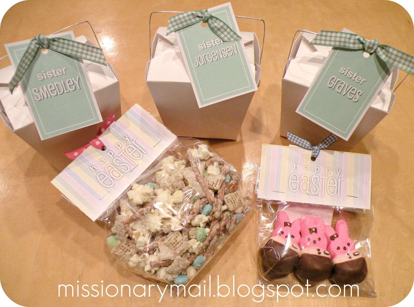 Missionary mail easter fun our other family missionaries what i hope will be a spiritual journey into the last days of christs life but i still just have to send an easter basket negle Gallery