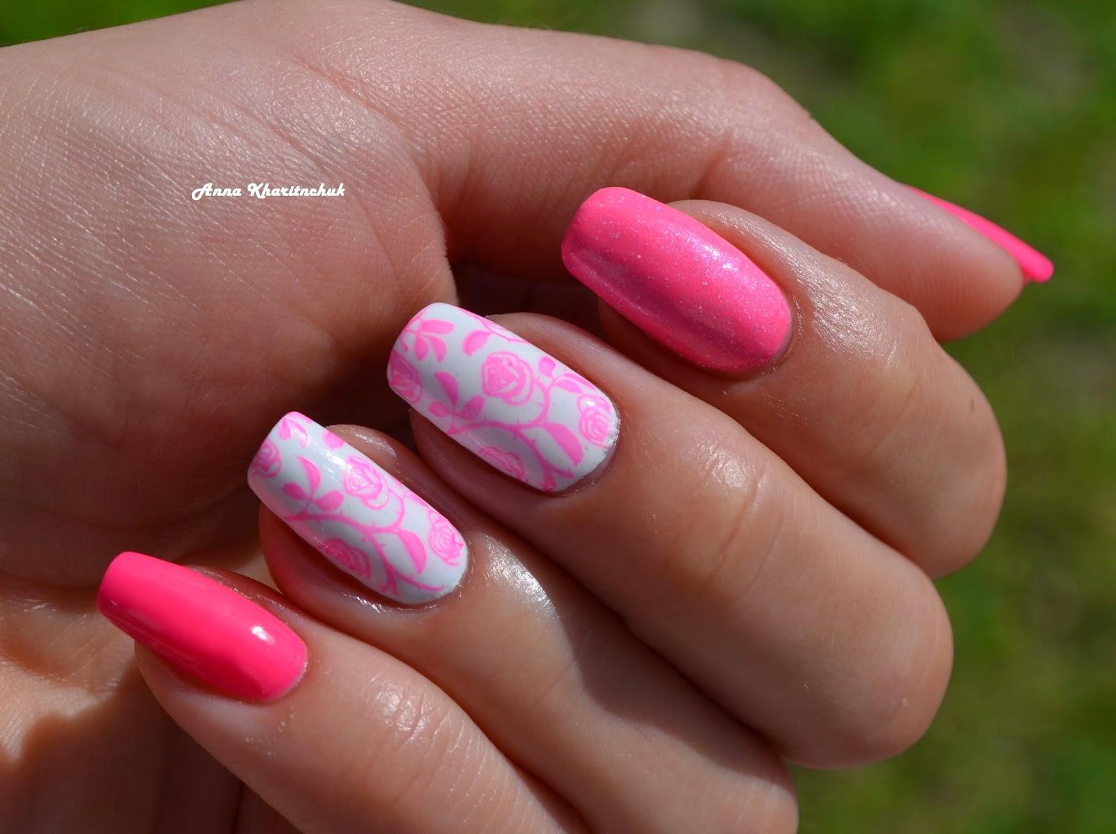 почти Skittlette Manicure