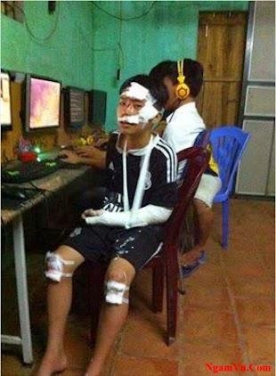 Niềm đam mê của giới trẻ Việt Nam là không giới hạn dù trong mọi hoàn cảnh :)
