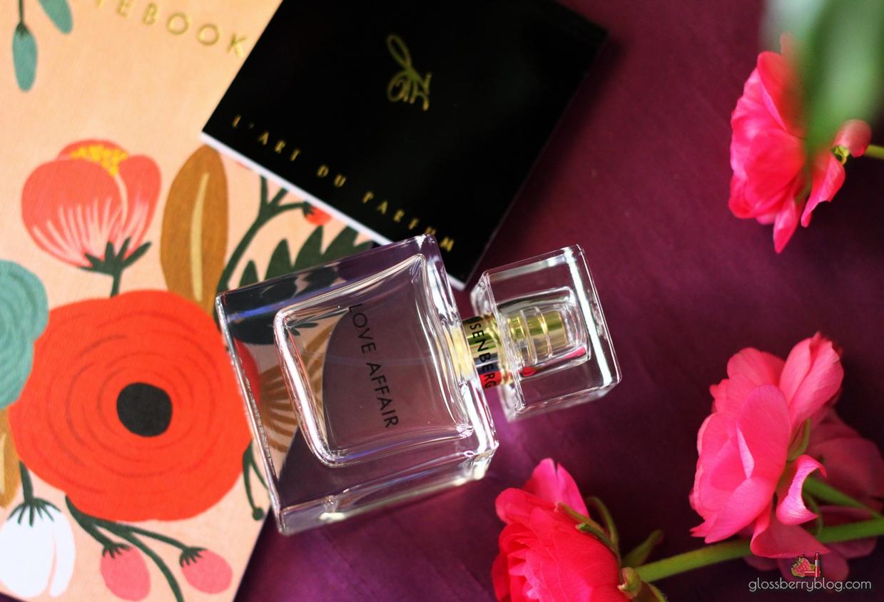 Eisenberg  Paris - Love Affair Eau De Perfume סקירה דיוטי פרי אייזנברג בושם לנשים גלוסברי בלוג איפור וטיפוח