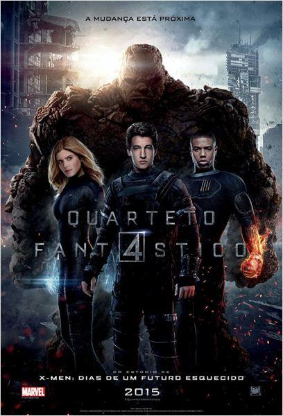 Baixar Quarteto Fantástico CAM Dublado 2015 Download Grátis