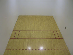 Two Racquetball Courts