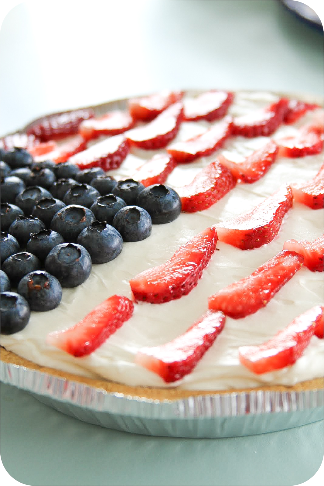 Red, White, And Blueberry Cheesecake Tart Recipes — Dishmaps