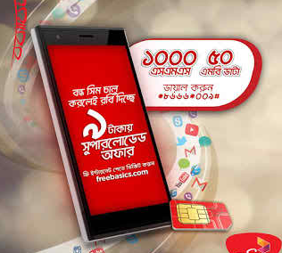 Robi Inactive Bondho Sim Offer! Get Special Call Rates, 1000 SMS & 50MB Data @ 9tk