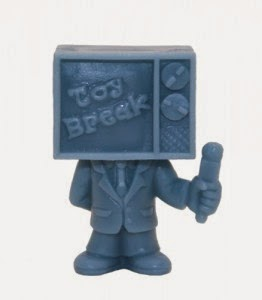 24 Hour Toy Break Exclusive Light Blue Toy Break Mini Figure by October Toys